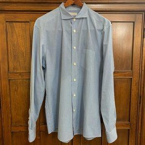Ermenegildo Zegna Long Sleeve Dress Shirt (XL)